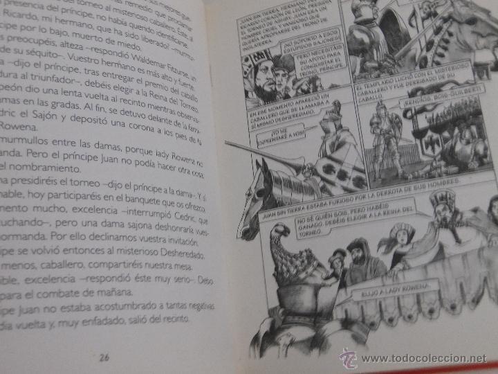 Libros de segunda mano: IVANHOE Historias de siempre. - Foto 3 - 52618231