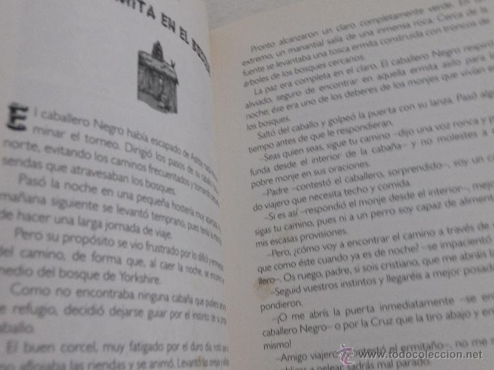 Libros de segunda mano: IVANHOE Historias de siempre. - Foto 4 - 52618231