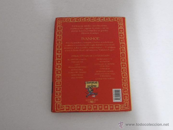 Libros de segunda mano: IVANHOE Historias de siempre. - Foto 6 - 52618231