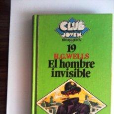 Libros de segunda mano: EL HOMBRE INVISIBLE DE H. G. WELLS - ILUSTRACIONES DE NESTOR SALAS. Lote 53939113