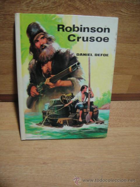 ROBINSON CRUSOE - EDITORIAL VASCO AMERICANA - ADAPTACION DE JOSE ARDANUY (Libros de Segunda Mano - Literatura Infantil y Juvenil - Novela)