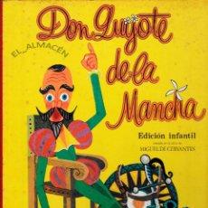 Libros de segunda mano: DON QUIJOTE DE LA MANCHA ED. INFANTIL (SOPENA, 1972) SIN USAR JAMÁS. Lote 182963655