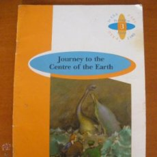 Libros de segunda mano: JOURNEY TO THE CENTRE OF THE EARTH - JULES VERNE - 2 ESO . Lote 54465449