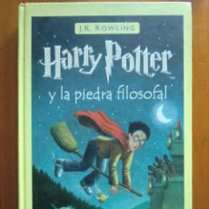 Libros de segunda mano - Libro HARRY POTTER Y LA PIEDRA FILOSOFAL (2.001) de J. K. Rowling. Editorial Salamandra - 70431798