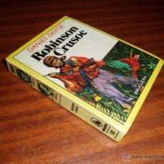 Libros de segunda mano: IÑI LIBRO. ROBINSON CRUSOE. DANIEL DEFOE. BRUGUERA. HISTORIAS INFANTIL. Nº 10. BOOK. ÉPSILON.. Lote 54726311