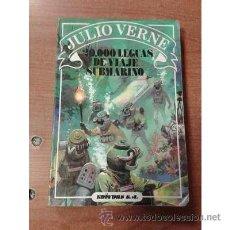 Libros de segunda mano: 20000 LEGUAS DE VIAJE SUBMARINO EDITORS SA. Lote 54729107