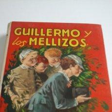 Libros de segunda mano: GUILLERMO Y LOS MELLIZOS.MOLINO.1980. Lote 54907290