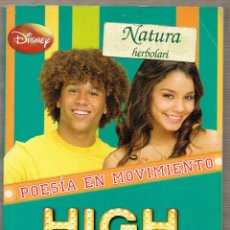 Libros de segunda mano: HIGH SCHOOL MUSICAL - HISTORIAS DEL EAST HIGH 3 - DISNEY - POESIA EN MOVIMIENTO. Lote 54943410