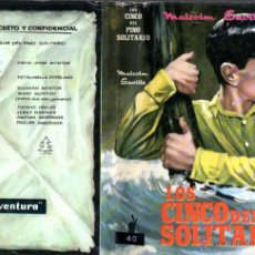 Libros de segunda mano: MALCOLM SAVILLE : LOS CINCO DEL PINO SOLITARIO (MOLINO, 1964). Lote 54977623