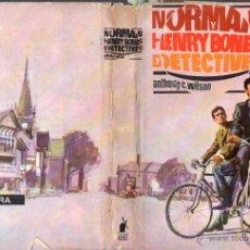Libros de segunda mano: ANTHONY C. WILSON : NORMAN Y HENRY BONES DETECTIVES (MOLINO, 1965). Lote 54977814