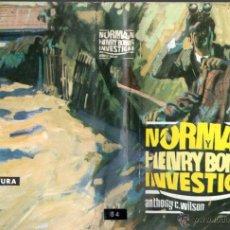 Libros de segunda mano: ANTHONY C. WILSON : NORMAN Y HENRY BONES INVESTIGAN (MOLINO, 1965). Lote 54977827