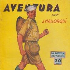 Libros de segunda mano: AVENTURA 1940. Lote 55053095