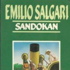 Libros de segunda mano: SANDOKÁN - EMILIO SALGARI. Lote 55814068
