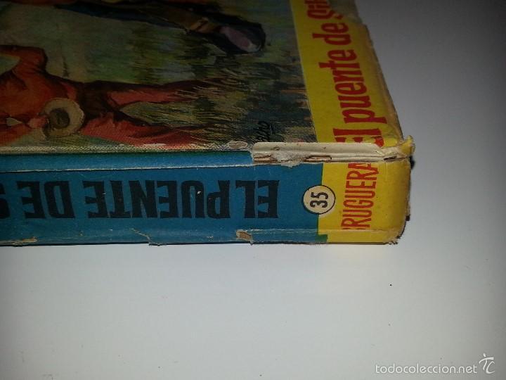 Libros de segunda mano: COLECCION HEROES - BRONCO - Nº 35 EL PUENTE DE SILVER GUN- ED. BRUGUERA 1ª EDICION AÑO 1964 - Foto 3 - 55952339