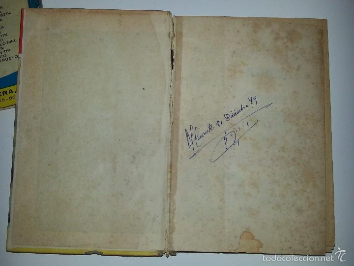 Libros de segunda mano: COLECCION HEROES - BRONCO - Nº 35 EL PUENTE DE SILVER GUN- ED. BRUGUERA 1ª EDICION AÑO 1964 - Foto 6 - 55952339