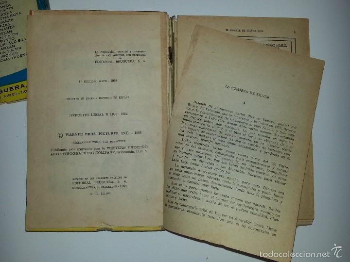 Libros de segunda mano: COLECCION HEROES - BRONCO - Nº 35 EL PUENTE DE SILVER GUN- ED. BRUGUERA 1ª EDICION AÑO 1964 - Foto 7 - 55952339