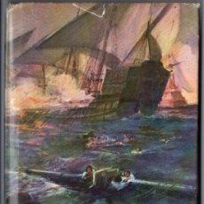 Libros de segunda mano: SALGARI : LA GALERA DEL BAJÁ (MOLINO, 1956). Lote 56082852