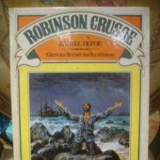 Libros de segunda mano: ROBINSON CRUSOE, DE DANIEL DEFOE. EDITORIAL BRUGUERA. Lote 56736952
