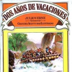 Libros de segunda mano: DOS AÑOS DE VACACIONES - JULIO VERNE - BRUGUERA. Lote 56737044