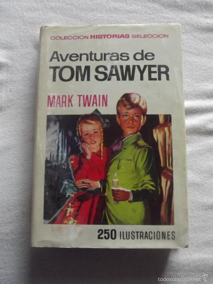 AVENTURAS DE TOM SAWYER DE MARK TWAIN (Libros de Segunda Mano - Literatura Infantil y Juvenil - Novela)