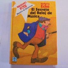 Libros de segunda mano: BALDUINO PITO - TORAY 1 - EL SECRETO DEL RELOJ DE MUSICA - SIN USAR, PERFECTO, IMPECABLE - 1980. Lote 56969494