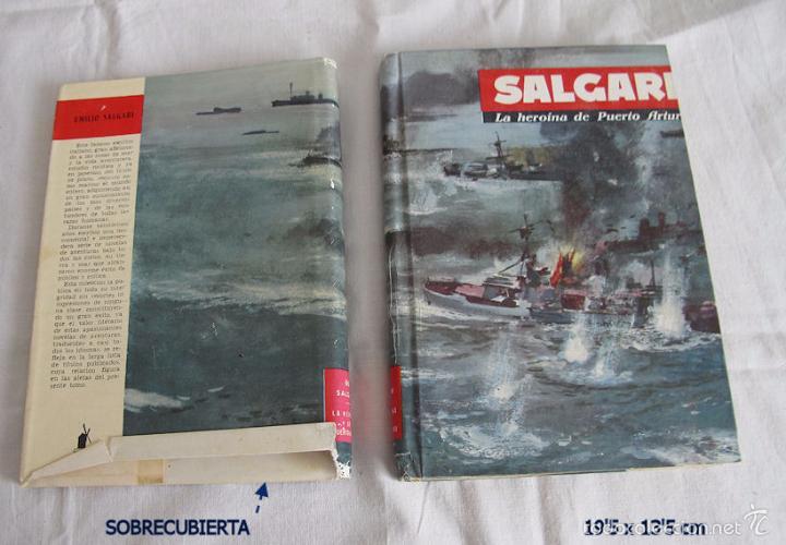 SALGARI MOLINO LA HEROINA DE PUERTO ARTURO Nº 66 (Libros de Segunda Mano - Literatura Infantil y Juvenil - Novela)