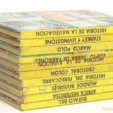 Libros de segunda mano: 7535 - COLECCIÓN H. JUVENILES.10 VOLUM(VER DESCRIP). VV. AA. EDIT. FERMA. 1965/67.. Lote 56934676