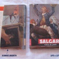 Libros de segunda mano: SALGARI MOLINO CABEZA DE PIEDRA Nº 58 1961. Lote 57099285
