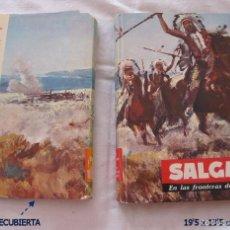 Libros de segunda mano: SALGARI MOLINO EN LA FRONTERA DEL FAR-WEST Nº 69 1961. Lote 57099621