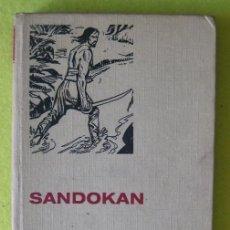 Libros de segunda mano: SANDOKAN _ EMILIO SALGARI. Lote 57446353