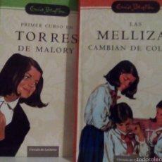Libros de segunda mano: ENID BLYTON TORRES DE MALORY Y SANTA CLARA SERIES COMPLETA. Lote 57536074