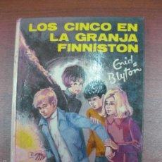 Libros de segunda mano: LOS CINCO EN LA GRANJA FINNISTON. ENID BLYTON. EDITORIAL JUVENTUD 1973. Lote 57731599