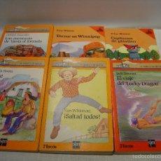 Libros de segunda mano: LOTE BARCO DE VAPOR (SM) AÑOS 80 - VER TITULOS. Lote 57888005