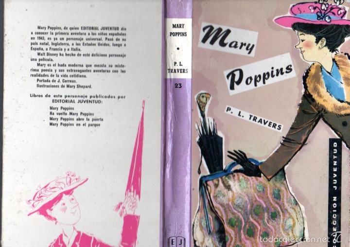 TRAVERS : MARY POPPINS (JUVENTUD, C.1960) (Gebrauchte Bücher - Kinder- und Jugendliteratur - Romane)
