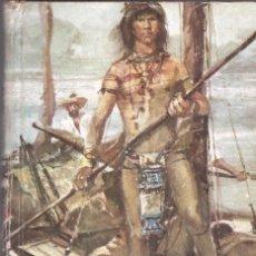 Libros de segunda mano: LA CIUDAD DEL ORO - EMILIO SALGARI - Nº 65 - EDT. MOLINO - 1ª ED. 1961.. Lote 57968670