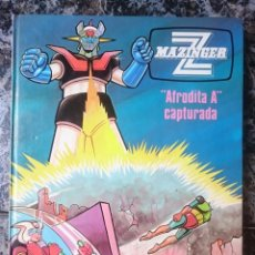 Libros de segunda mano: LIBRO MAZINGER Z - N 3 - AFRODITA A CAPTURADA - ED. GRIJALBO --REFM1E4. Lote 58086937