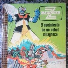 Libros de segunda mano: LIBRO MAZINGER Z - N 1 - EL NACIMIENTO DE UN ROBOT MILAGROSO - ED. GRIJALBO - LOMO MAL ESTADO --RE. Lote 58086956