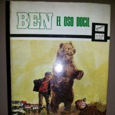Libros de segunda mano: BEN EL OSO DOCIL / WALT MOREY /1970. Lote 58098381