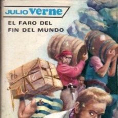 Libros de segunda mano: JULIO VERNE : EL FARO DEL FIN DEL MUNDO (MOLINO, 1961). Lote 58199473