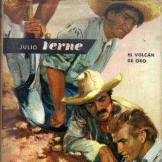 Libros de segunda mano: JULIO VERNE : EL VOLCÁN DE ORO (MOLINO, 1963). Lote 167960965