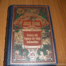 Libros de segunda mano: VEINTE MIL LEGUAS DE VIAJE SUBMARINO - JULIO VERNE - AÑO 2002 - RBA EDICIONES. Lote 160778628