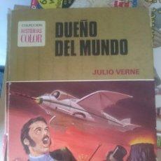 Libros de segunda mano: DUEÑO DEL MUNDO - JULIO VERNE -- COLECCION HISTORIAS COLOR. Lote 58376177
