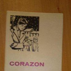 Libros de segunda mano: CORAZON-- EDMUNDO D ´AMICIS . Lote 58597217