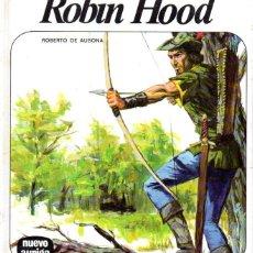 Libros de segunda mano: R. DE AUSONA : ROBIN HOOD (NUEVO AURIGA, 1976). Lote 58640974