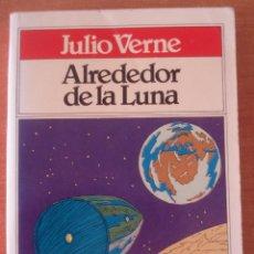 Libros de segunda mano: ALREDEDOR DE LA LUNA. JULIO VERNE. TODOLIBRO BRUGUERA. AÑO 1981.. Lote 58646342
