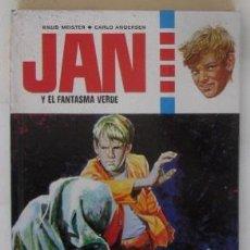 Libros de segunda mano: JAN Y EL FANTASMA VERDE. Lote 59184555