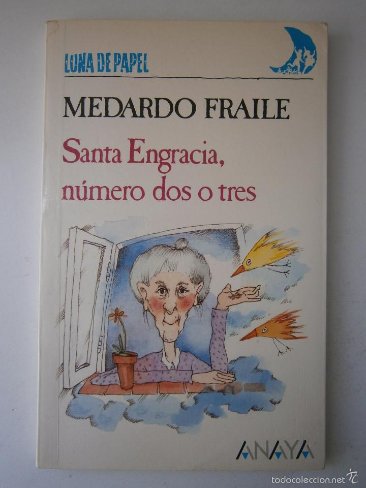 Libros de segunda mano: Santa Engracia numero dos o tres Medardo Fraile Mabel Pierola Anaya 1 edicion 1989 - Foto 2 - 60542639