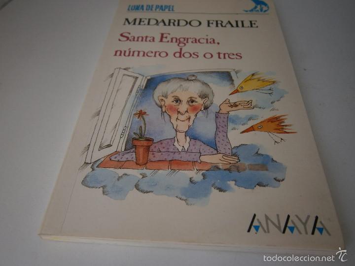 Libros de segunda mano: Santa Engracia numero dos o tres Medardo Fraile Mabel Pierola Anaya 1 edicion 1989 - Foto 6 - 60542639
