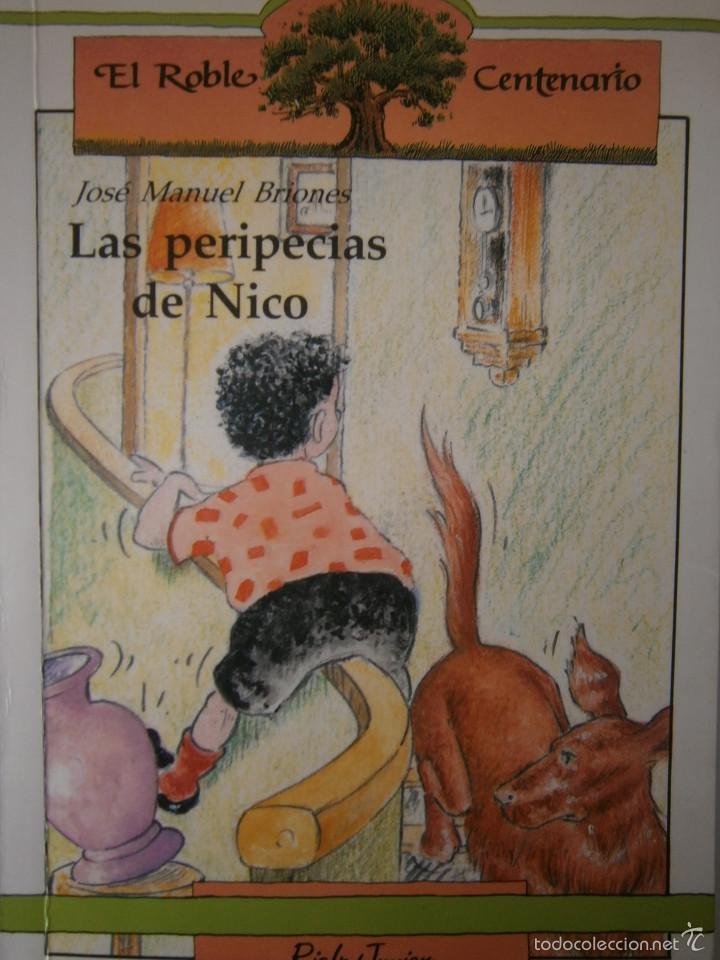 LAS PERIPECIAS DE NICO JOSE MANUEL BRIONES RIALP 1989 (Libros de Segunda Mano - Literatura Infantil y Juvenil - Novela)