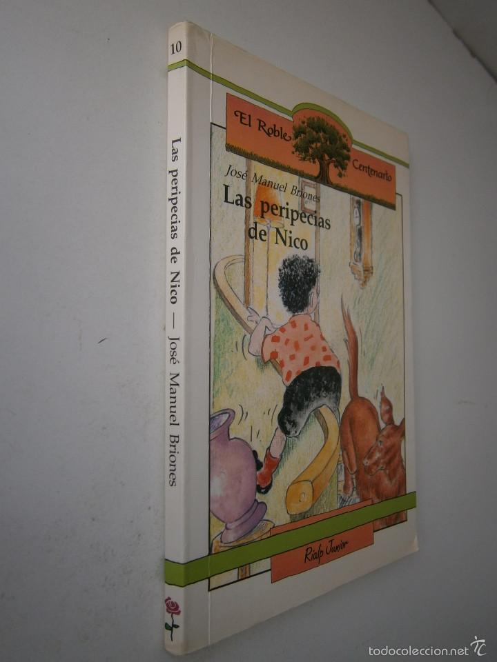 Libros de segunda mano: LAS PERIPECIAS DE NICO Jose Manuel Briones Rialp 1989 - Foto 3 - 60542951